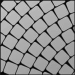 50x50 alebo 100x100 mm, radius