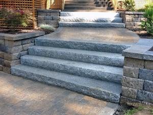granit schody exterier